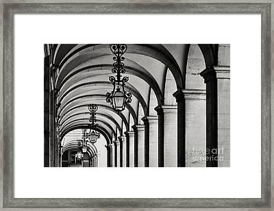 Arcade 2 Framed Print by Rod McLean
