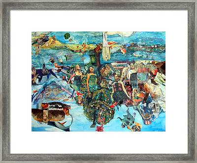 Arcadia -a Beautiful World To Come Framed Print by Barb Greene mann