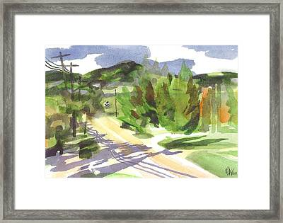 Arcadia Impressions Framed Print by Kip DeVore