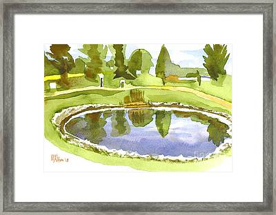 Arcadia Valley Country Club II Framed Print