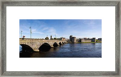 Arch Bridge Across A River, Thomond Framed Print