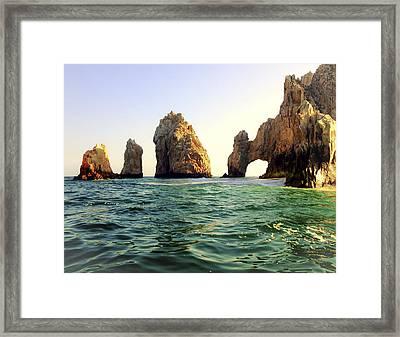 Arch Framed Print by Cameron Howard
