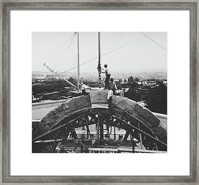 Arch Construction Framed Print by Library Of Congress