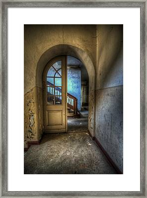 Arch Door Framed Print