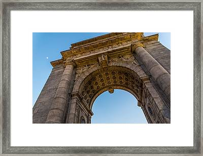 Arch Framed Print by Kristopher Schoenleber