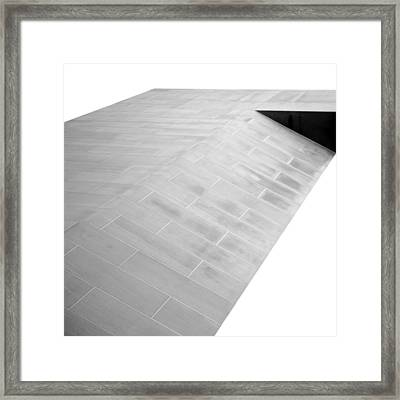 Arch Of Peace - Abstract Framed Print by Darryl Dalton