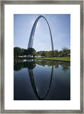 Arch Reflection Framed Print
