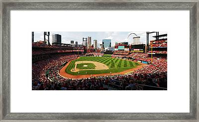 Arch Returns To The Outfield Framed Print