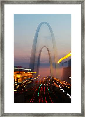 Arch Special Effect Framed Print