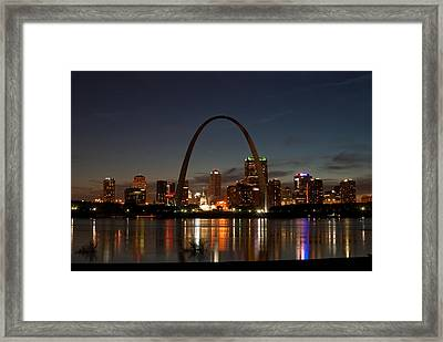 Arch Work Framed Print