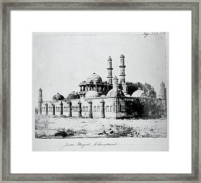 Archaeological Survey Of India Framed Print by British Library