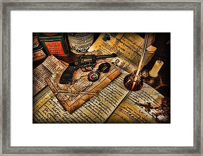Archaeologist - Jamaican Expedition  Framed Print