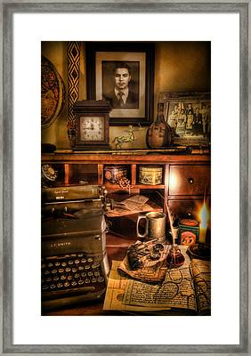 Archaeologist - The Adventurer's Hutch  Framed Print
