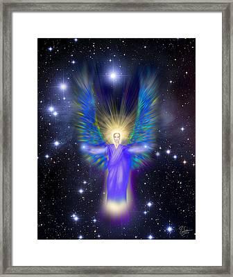 Archangel Michael Framed Print