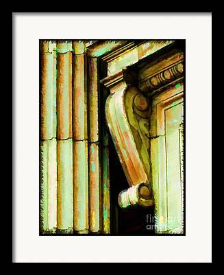 Digiral Paint Framed Prints