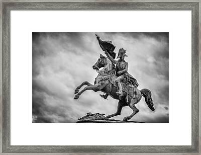 Archduke Karl Von Habsburg Framed Print by Pablo Lopez