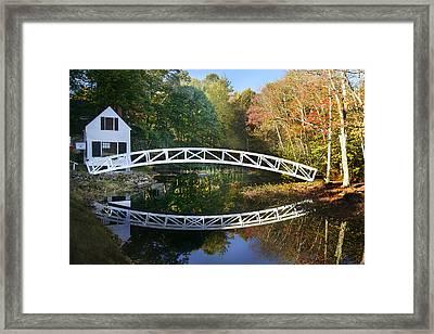 Arched Bridge Framed Print
