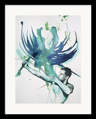 Bow And Arrow Framed Prints