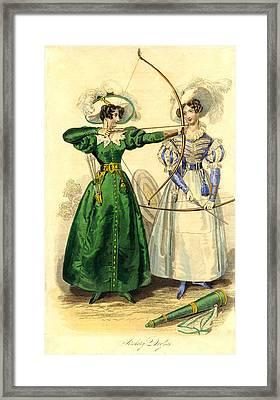 Archery Duchess Framed Print