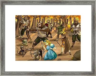 Archery In Oxboar Framed Print
