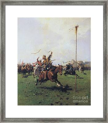 Archery Framed Print by Pg Reproductions