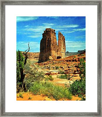 Arches 23 Framed Print by Marty Koch