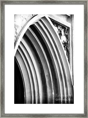 Arches At Huguenot Framed Print by John Rizzuto