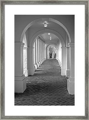 Arches At The Rotunda At University Of Va 2 Framed Print