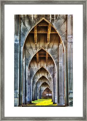 Arches For Days Framed Print by Darren  White