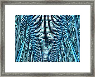 Arches In Brookefield Place Framed Print