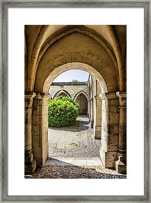 Arches In Perigueux Framed Print