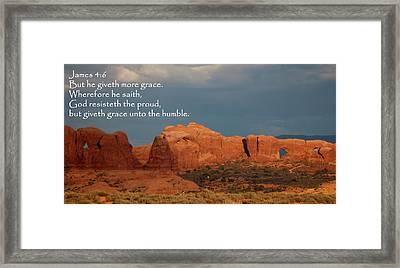 Arches James 4-6 Framed Print