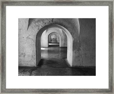 Arches Framed Print by Kyle Wasielewski