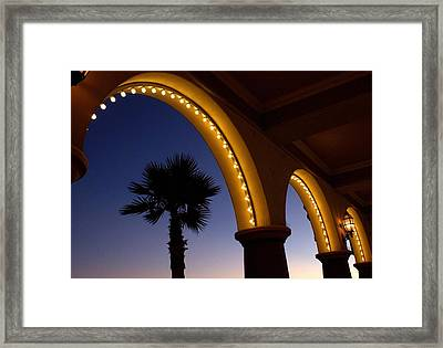 Arches Framed Print by Lora Lee Chapman