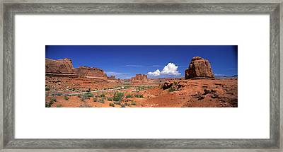 Arches National Park, Moab, Utah, Usa Framed Print by Panoramic Images