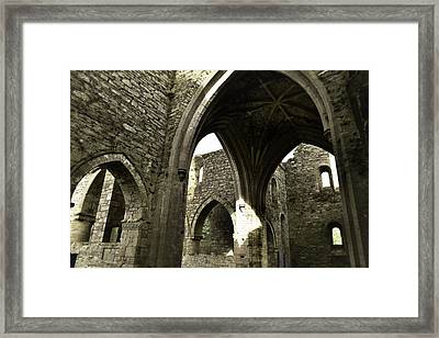 Arches Of Ages - Jerpoint Abbey Framed Print