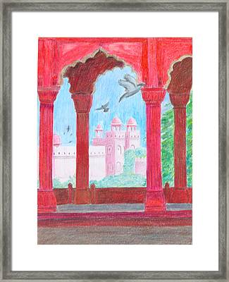 Arches Of India Framed Print