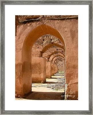 Arches Framed Print by Sophie Vigneault
