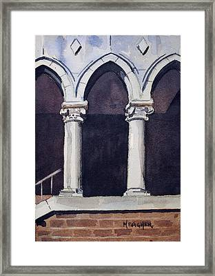 Arches  Framed Print by Spencer Meagher