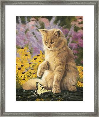 Archibald And Friend Framed Print