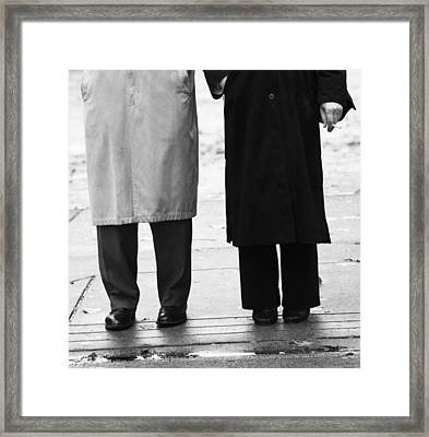 Archie N Edith Framed Print