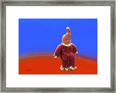 Archie's New Dimension Framed Print by David Wiles