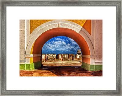 Arching Framed Print by Kathi Isserman