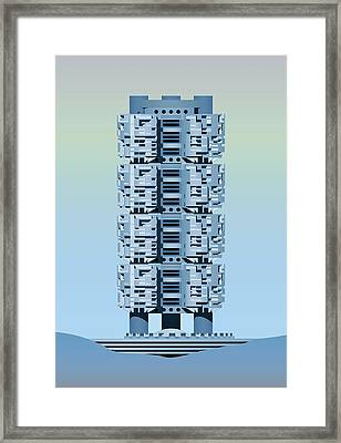 Archisystems Framed Print by Peter Cassidy
