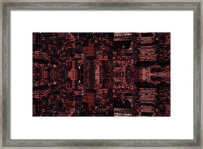 Architect Of The Future Framed Print by Dan Sproul