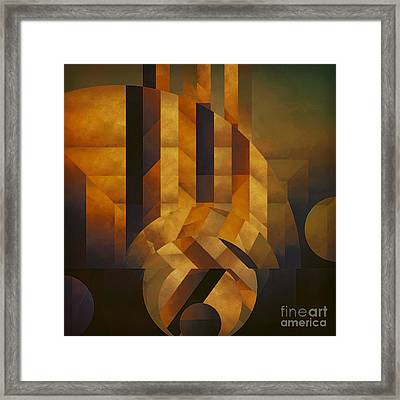 Architectonic Exclusion Framed Print by Lonnie Christopher
