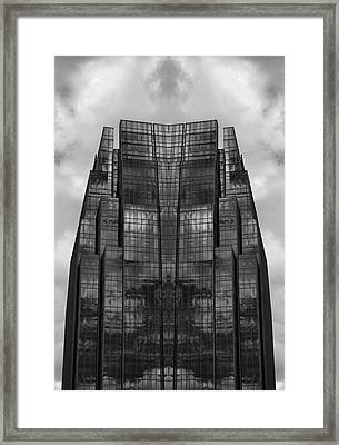 Architect's Dream Black And White Framed Print by Dan Sproul
