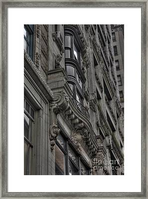 Architectural Detail Framed Print by David Bearden