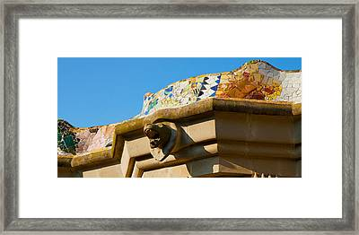 Architectural Detail Of A Building Framed Print by Panoramic Images