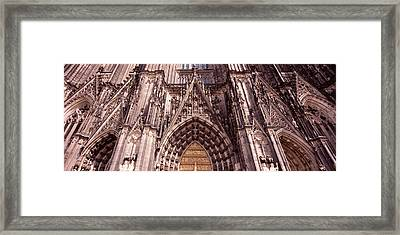 Architectural Detail Of A Cathedral Framed Print